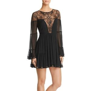 Free people Panama City mesh embroidered dress